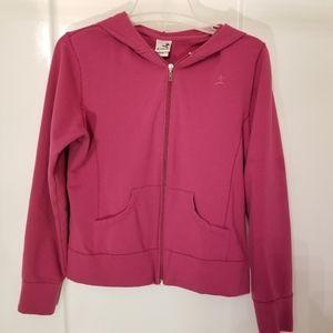 Kinesis Hot pink long sleeve athletic jacket large